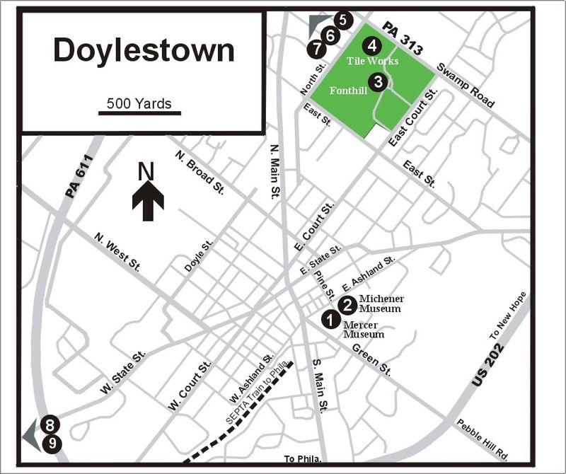 DoylestownMap
