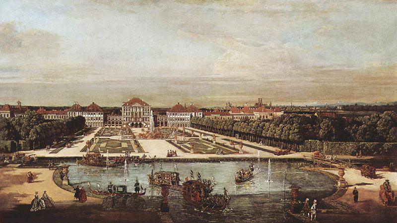 NymphenburgCanelletoPainting